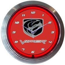 """15"""" Viper Neon Clock"""