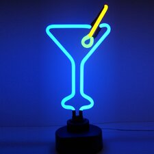Business Signs Martini Glass Neon Sign