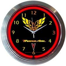 "15"" Trans Am Wall Clock"