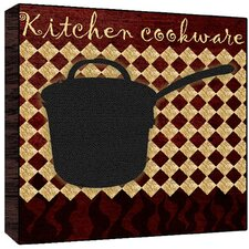 Kitchen Cookware Graphic Art