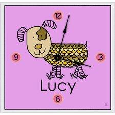 """Dog Personalized 11"""" Art Wall Clock"""