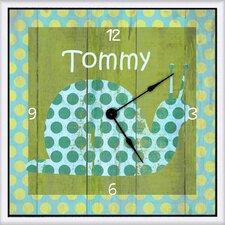"Snail Personalized 11"" Art Wall Clock"