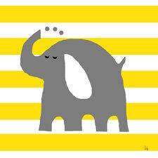 Elephant on Canvas Art