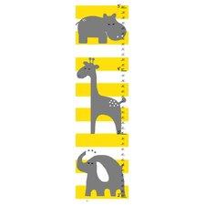 Gray Animals Growth Chart