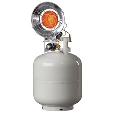 Tank Tops 15,000 BTU Portable Propane Radiant Tank Top Heater with Spark Ignition