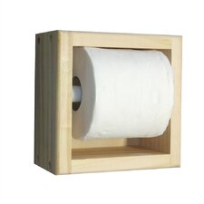 On the Wall Recessed Toilet Paper Holder