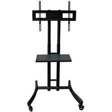 Basic A/V Mobile TV Stand with Shelf