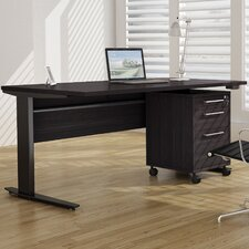 Pierce Desk Shell with Adjustable Height