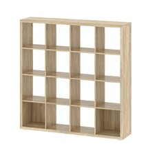 "Demi 4 x 4 55.47"" Bookcase"
