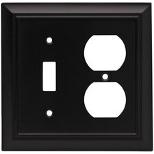 Architectural Single Switch/Duplex Wall Plate