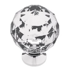 Design Facets Crystal Knob