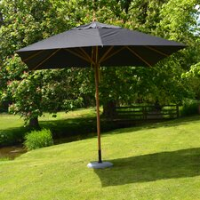 11.5' Levante Square Bamboo Market Umbrella