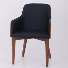 Hudson Arm Chair with Wood Legs