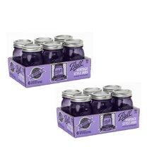 Heritage 1-Pint Regular Mouth Mason Jar (Set of 12)