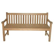 Teak Block Island Garden Bench