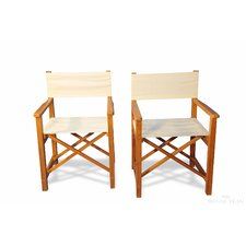 Folding Dining Arm Chair (Set of 2)