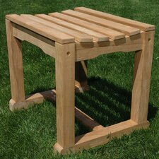 Teak Backless Garden Bench