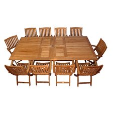 Valencia 11 Piece Dining Set