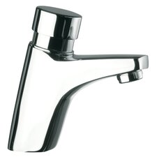 Deck Mounted Bathroom Sink Faucet with Pillar Tap