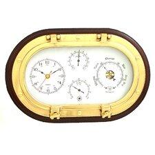 """12"""" Porthole Wall Clock"""