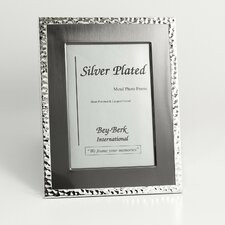 Silver and Gunmetal Picture Frame