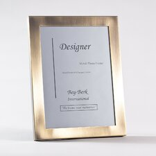 Brushed Antique Brass Picture Frame