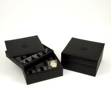Stacked Valet Watch Box