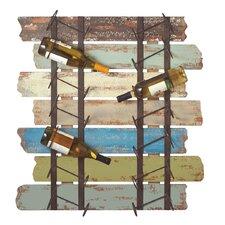 14 Bottle Wall Mounted Wine Rack