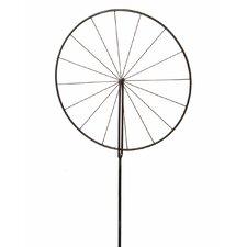 Bike Wheel Trellis Garden Stake