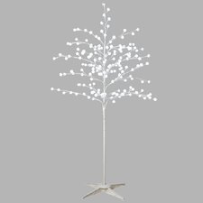 Holiday Shines Lighted LED Pom-Pom Tree with 180 Lights