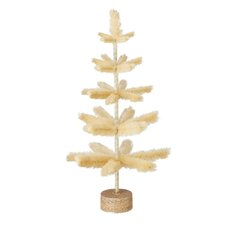 "Merchandisers 24"" Natural Artificial Christmas Tree Decor"
