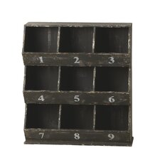 Victory Number Storage Cubby