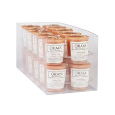 Oraya Vanilla Spice Votive Candle Set (Set of 20)