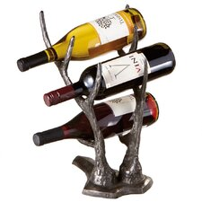 Weekend Retreat 3 Bottle Tabletop Wine Rack