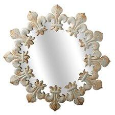 Victory Fleur de Lis Wall Mirror