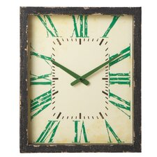 Borough Numbers Wall Clock