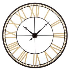 "Toscana 40"" Roman Numeral Wall Clock"