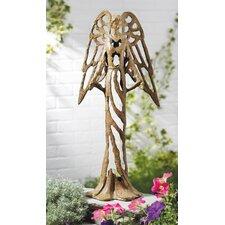 Toscana Open Work Angel Statue