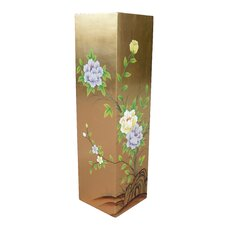Gold Leaf Floral Umbrella Stand