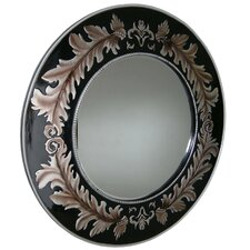 French Inspired Leaf Mirror