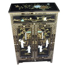 Mother of Pearl 2 Door 1 Drawer Sideboard