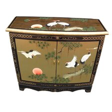 Gold Leaf 2 Door Sideboard