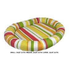 Baja Stripe Indoor/Outdoorl Bolster Dog Bed