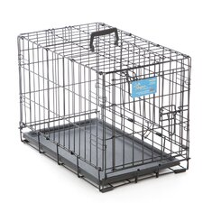 Life Stages Fold & Carry Double Door Pet Crate