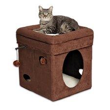 "16"" Feline Nuvo Curious Cat Condo"