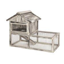 Hoppity™ Habitat Composite Plastic/Wood Rabbit Hutch
