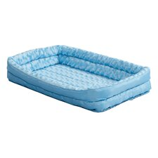 Quiet Time Deluxe Fleece Double Bolster Bed
