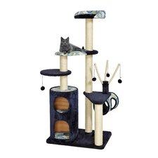 """62"""" Feline Nuvo Playhouse Cat Tree"""