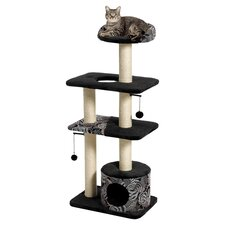 "51"" Feline Nuvo Tower Cat Tree"