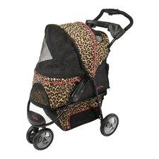 Promenade Standard Pet Stroller in Cheetah Print